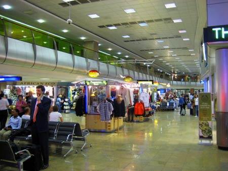аэропорт в ЮАР
