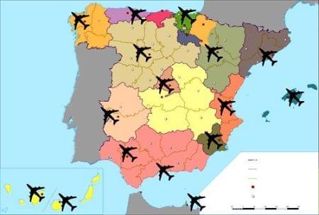 аэропорты в Испании