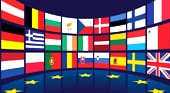 флаг шенгенской зоны
