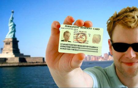 обладатель Green Card