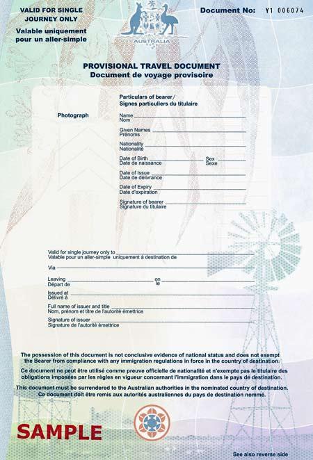 Identity declaration