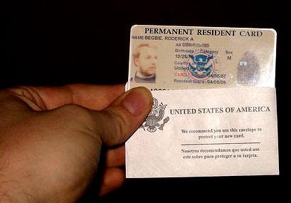 иммиграционная карта в США