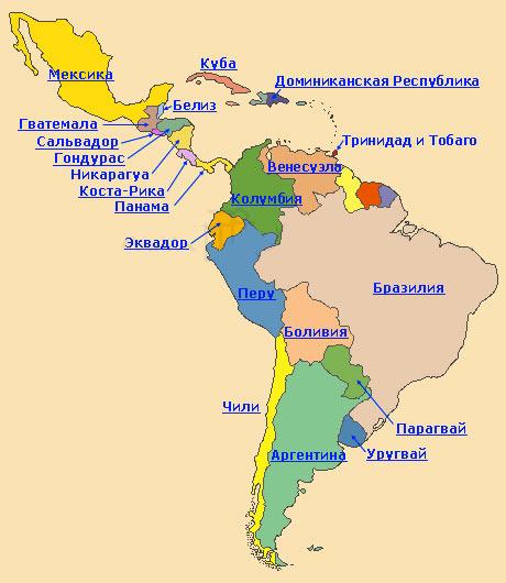 Карта Стран Азии Со Столицами