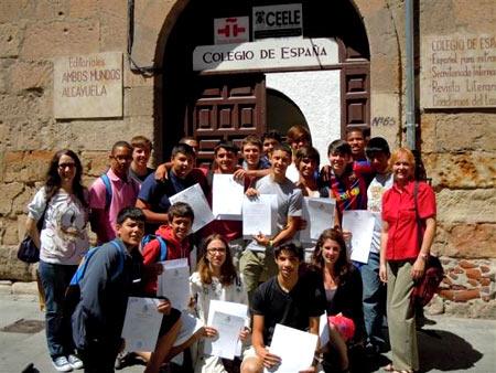 колледж в Испании