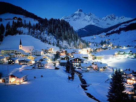 Курорт в Австрии