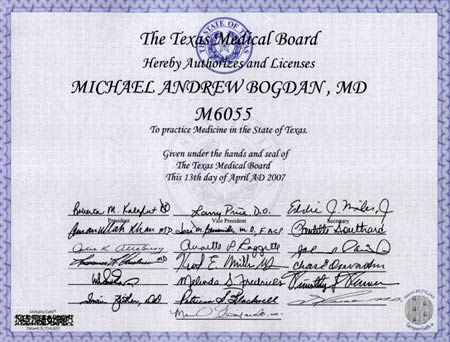 медицинская лицензия в США