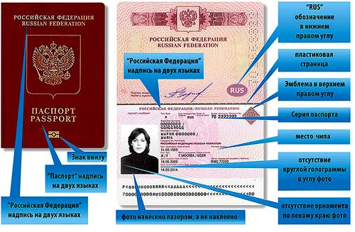 чип в паспорте
