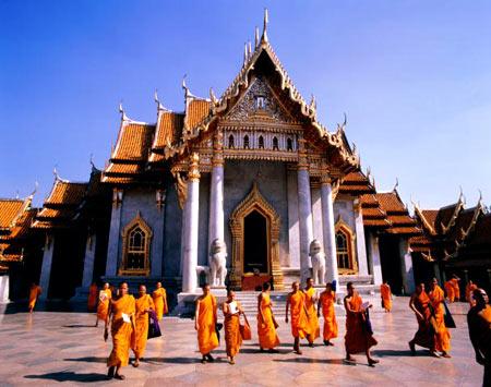 буддийский монастырь в Мьянме