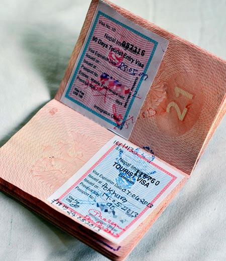 Непал продление визы