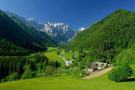 деревушка в Словении