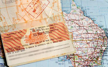 транзитная виза в Австралию