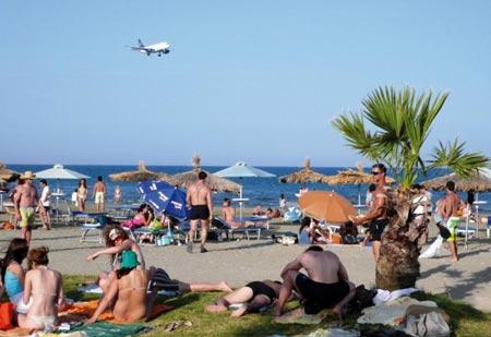 отдыхающие на Кипре