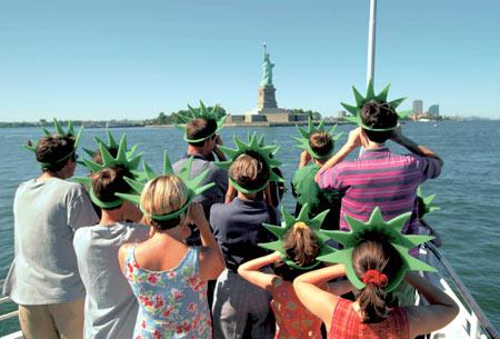 Американские туристы