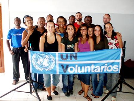 Волонтеры ООН