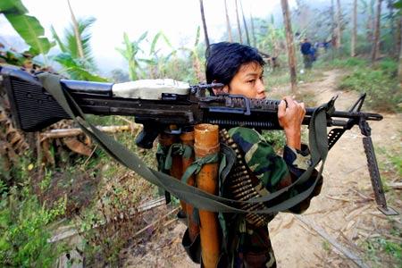 военные в Мьянме