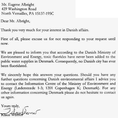 заявление в датское посольство