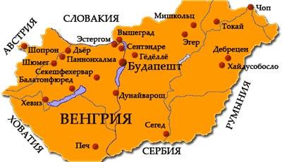 венгерская карта