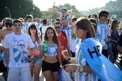 туристы в аргентине