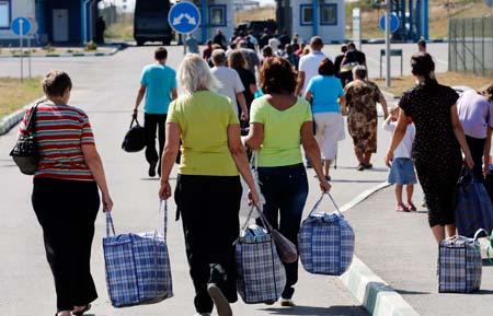 беженцы в Российскую Федерацию