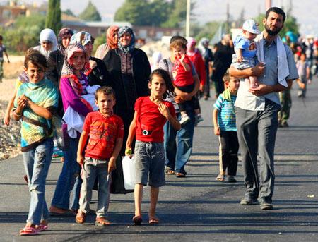 беженци во Франции