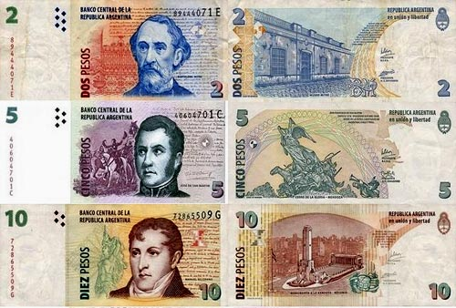 аргентинские песо