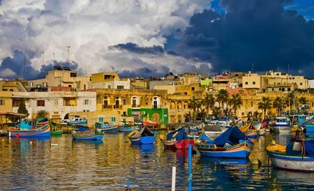 деревня на Мальте