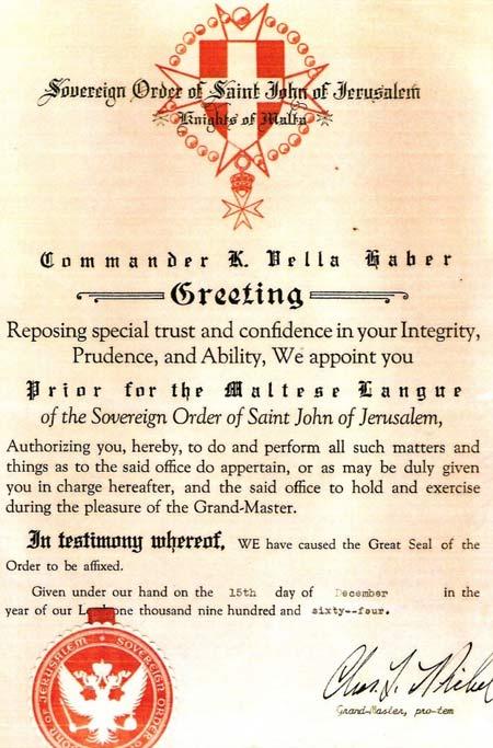 мальтийский диплом