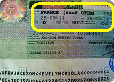 французкая долгосрочная виза