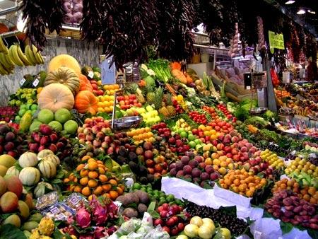 фрукт на рынке