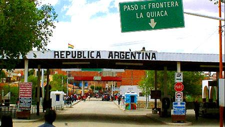 пересечение границы Аргентины