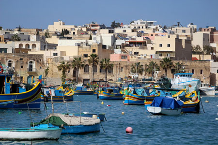 Мальта, портовый городок