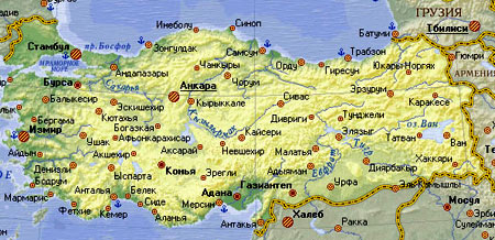 турецкая карта