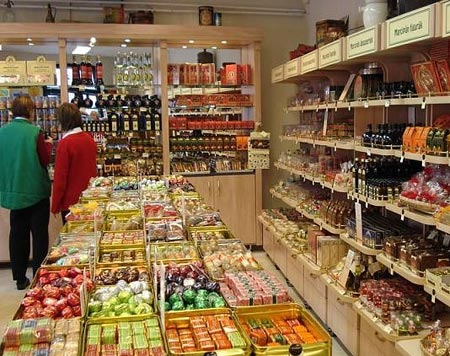 магазин в Венгрии