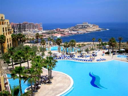 курорт на Мальте