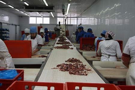 мясной цех в Аргентине