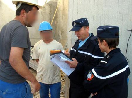 рабочие нелегалы во Франции