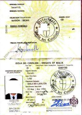 папорт мальтийца