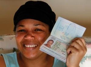 паспорт гражданина ямайки