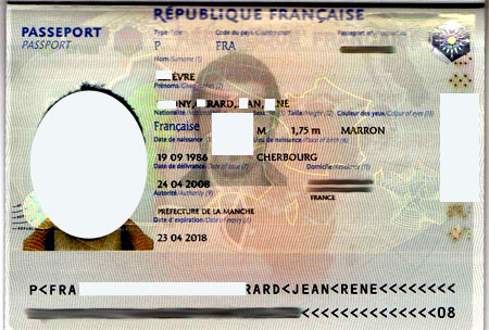 французский паспорт