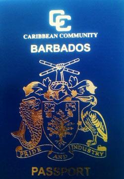 паспорт барбадоса