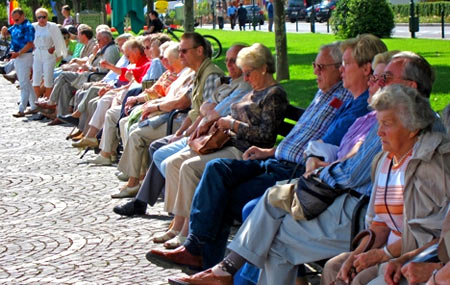 французские пенсионеры