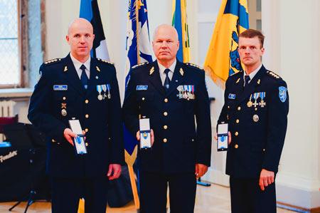 эстонские полицейские