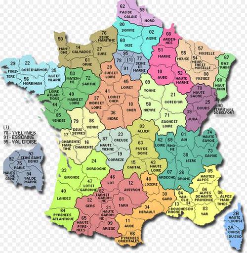 префектуры Франции