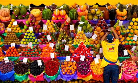 рынок в Бразилии