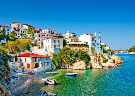 Поселок в Греции