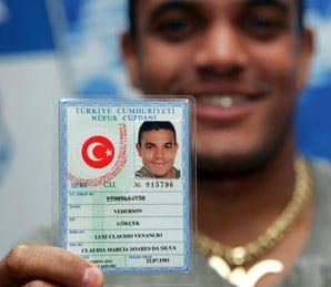 турецкое удостоверение