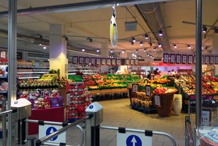 словацкий супермаркет