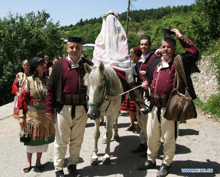 свадьба в Македонии