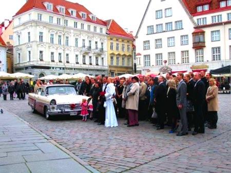 эстонская свадьба
