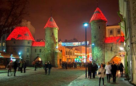Вечерний Таллин, Эстония